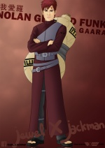Gaara Nolan by Jewel x Jackman1