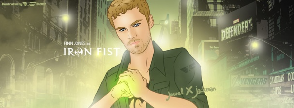 IronFist-Cover by Jewel x Jackman